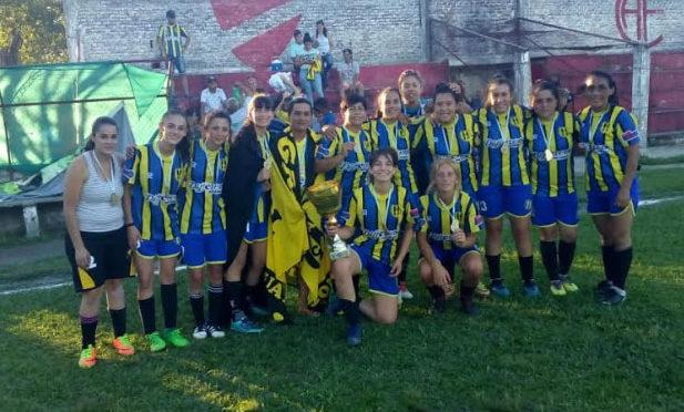 Almagro: hizo historia en el fútbol femenino