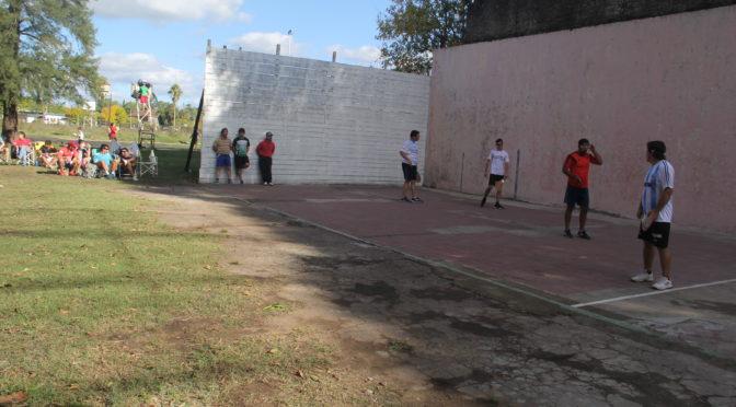 PELOTA: ENTRERRIANO DE 3ª CATEGORÍA EN ITAPÉ