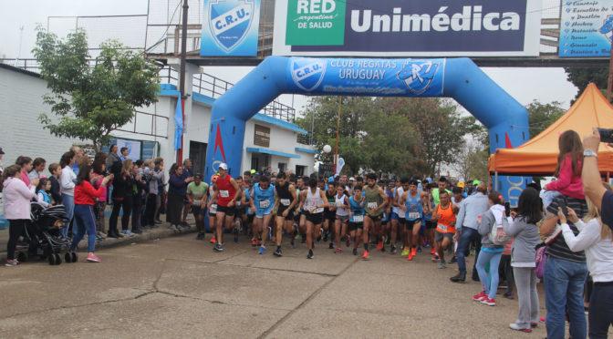 ANDREA taborda trajo el festejo uruguayense