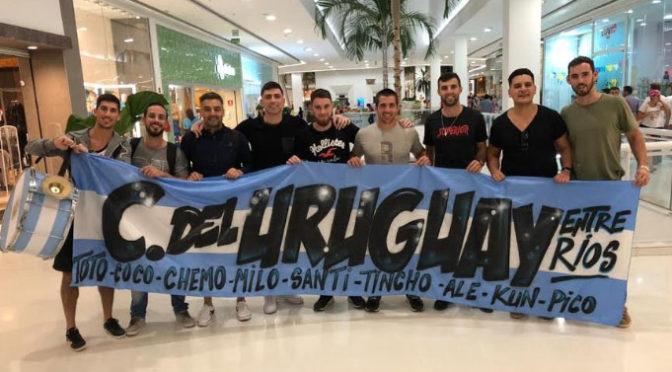URUGUAYENSES EN BRASIL POR MESSI Y LA SELECCIÓN