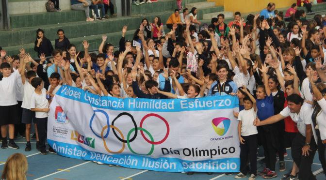 walter pérez jerarquizó el día olímpico