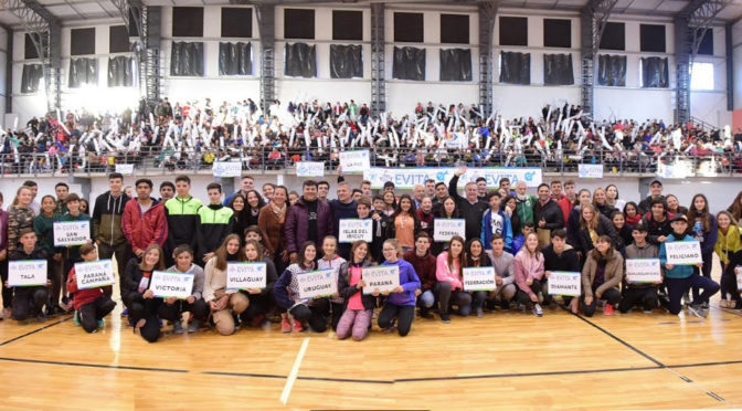 LAS FINALES PROVINCIALES DE LOS JUEGOS EVITA EN EL CPEF Nº 3