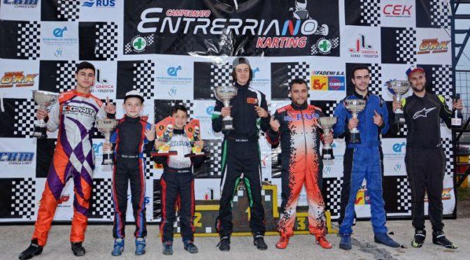 karting: tercer doblete en filA DE JOACO BONNET