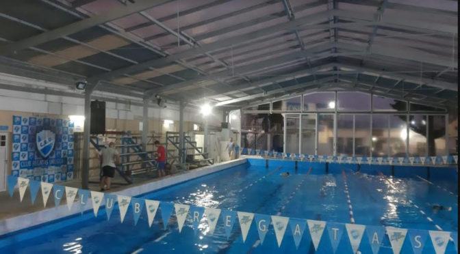 un renovado natatorio de regatas recibe al entrerriano