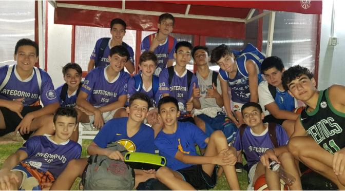 U13: PARQUE SUR MOSTRÓ SU JERARQUíA Y ES FINALISTA