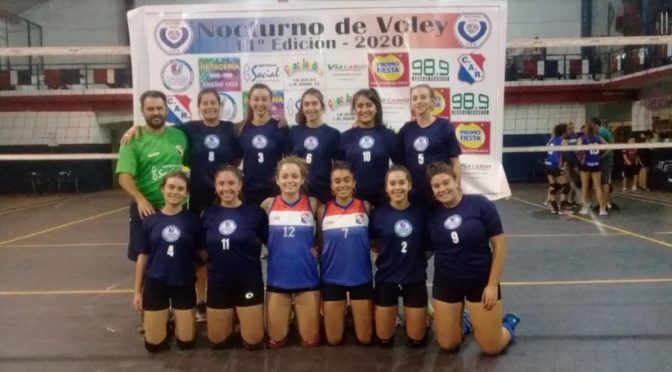 CUARTOS DE FINAL DE LAS CHICAS EN EL NOCTURNO DE RIVADAVIA
