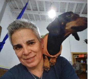 ZULMA LAMBERT EN LA VUELTA DEL PING PONG
