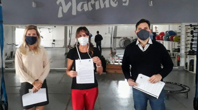 GIMNASIOS: PRIMERA PARTE DE LAS HABILITACIONES CUMPLIDA