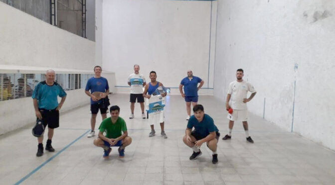LA PELOTA DE GIMNASIA FESTEJÓ LOS 104 AÑOS DEL CLUB