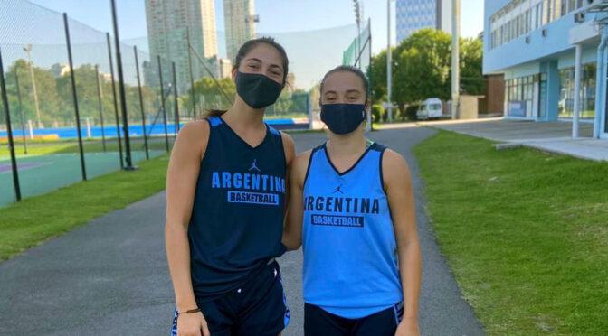 PAULA SANTINI Y DELFINA CERGNEUX CONCENTRARÁN CON LA SELECCIÓN U16