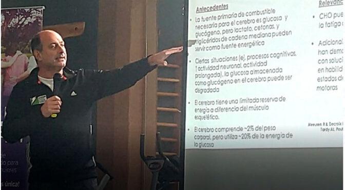 PABLO CORINALDESI INAUGURÓ EL CICLO DE CHARLAS EN CEDELS